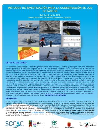 Cartel curso metodología